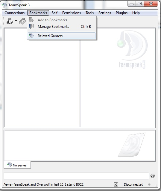 how to move spacer channels teamspeak 3